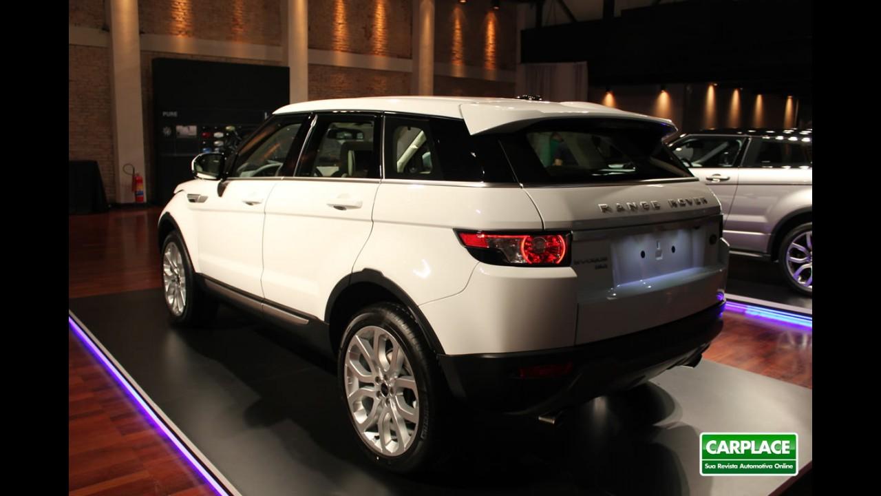 Range Rover Evoque já vende mais no Brasil do que na Alemanha