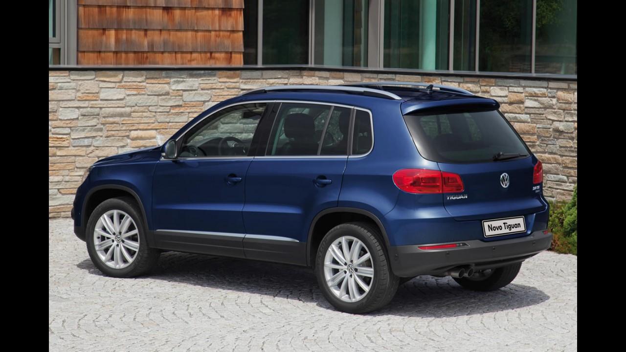 Novo VW Tiguan chega em 2016 com plataforma MQB e tecnologias inéditas