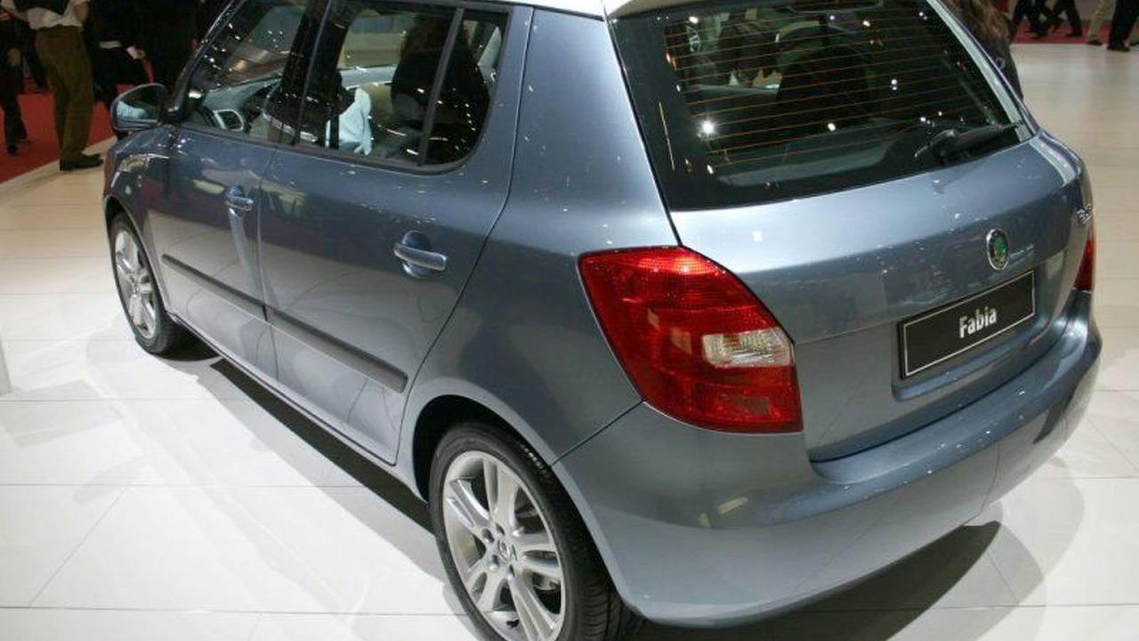 Skoda Fabia Hatchback at Geneva
