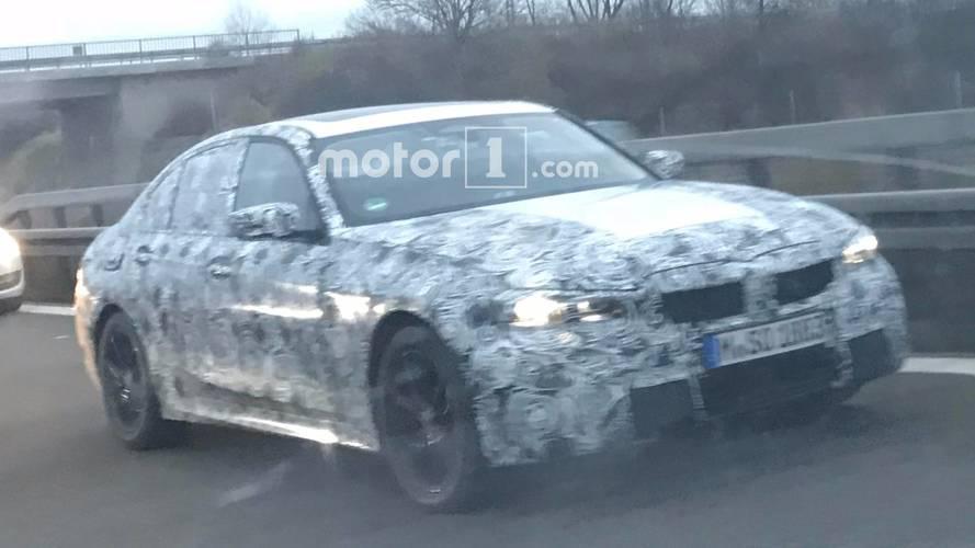 Flagra - Novo BMW Série 3 chega em 2018 com design inspirado no Série 5