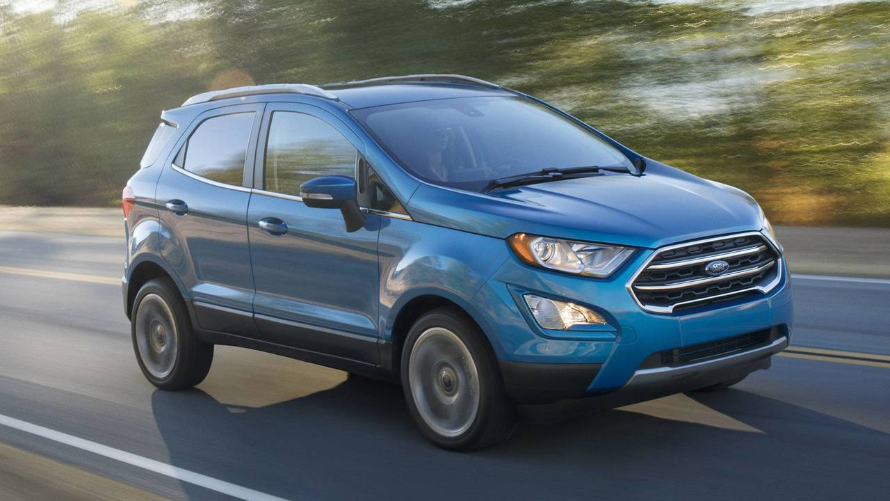 4. 2018 Ford EcoSport S 2.0L, $22,490