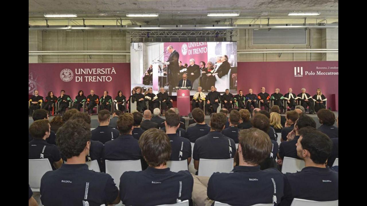 Sergio Marchionne, laurea honoris causa in ingengeria meccatronica all'Università di Trento