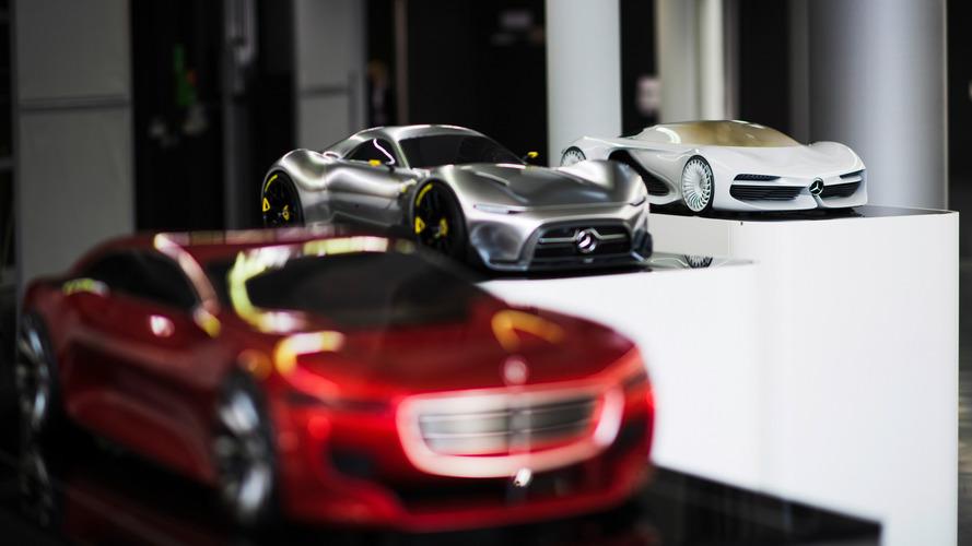 Mercedes-Benz tasarım çalışmaları
