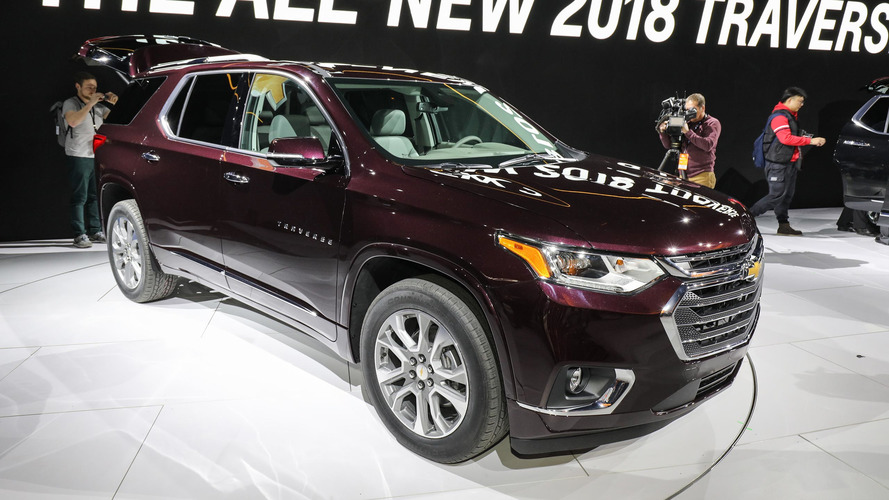 2018 Chevy Traverse grows from midsize to fullsize