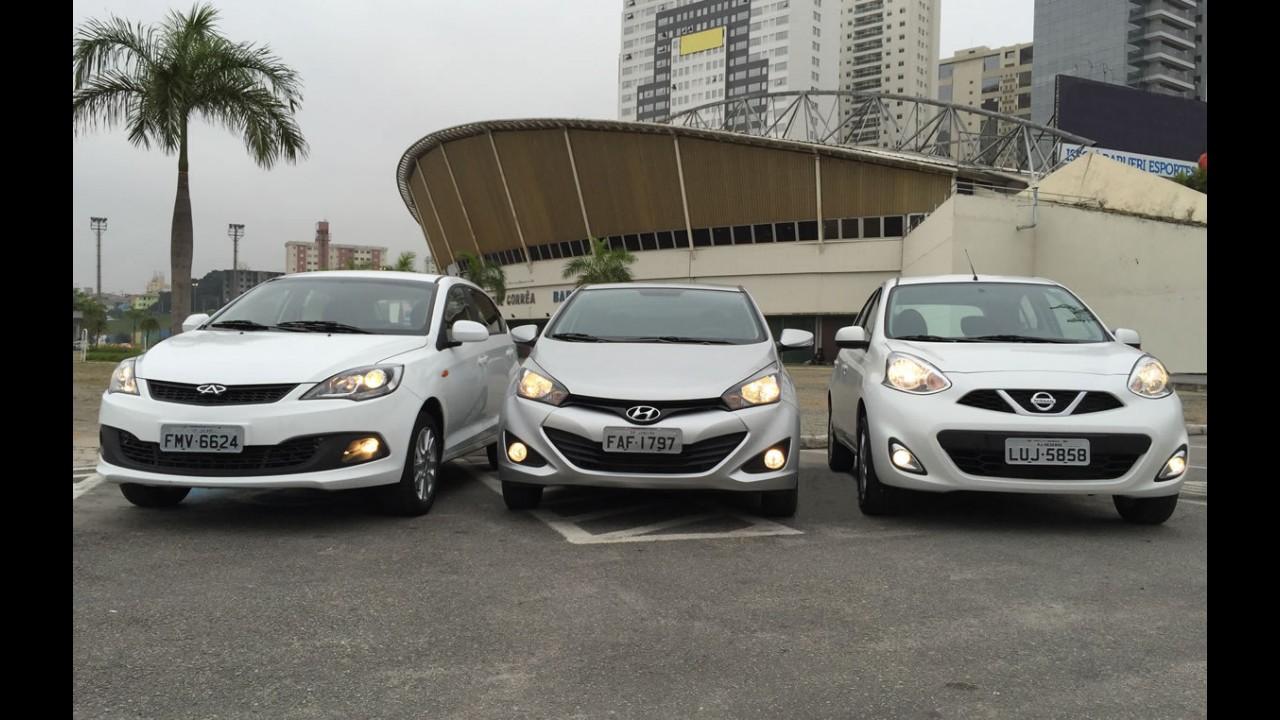 Brasileiros de olhos puxados: novo Chery Celer faz frente ao March e HB20?