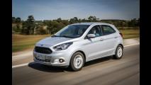 Lançado há menos de um ano, novo Ka já emplaca 100 mil unidades no Brasil