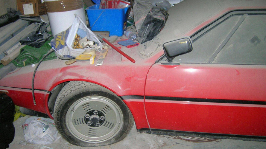 Low-mileage BMW M1 is the ultimate barn find