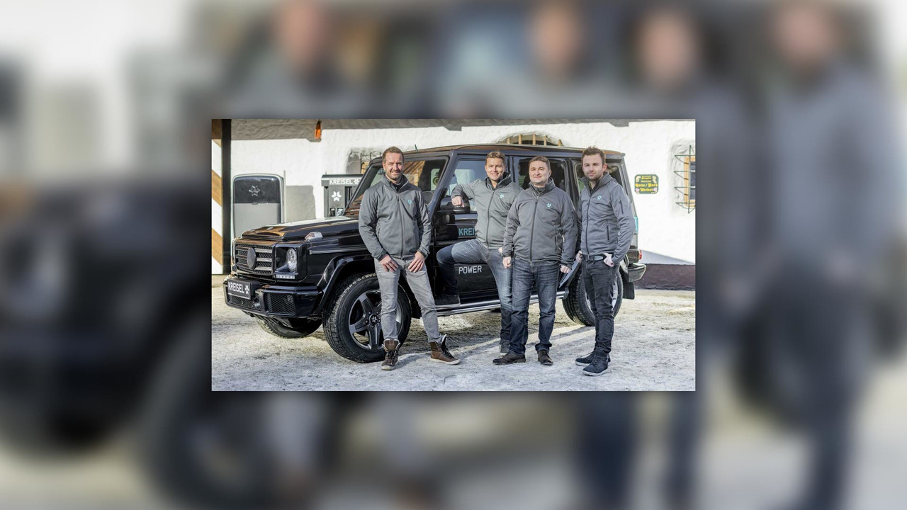 G Electric Schwarzenegger Gets An Electric G Class From His Home Country