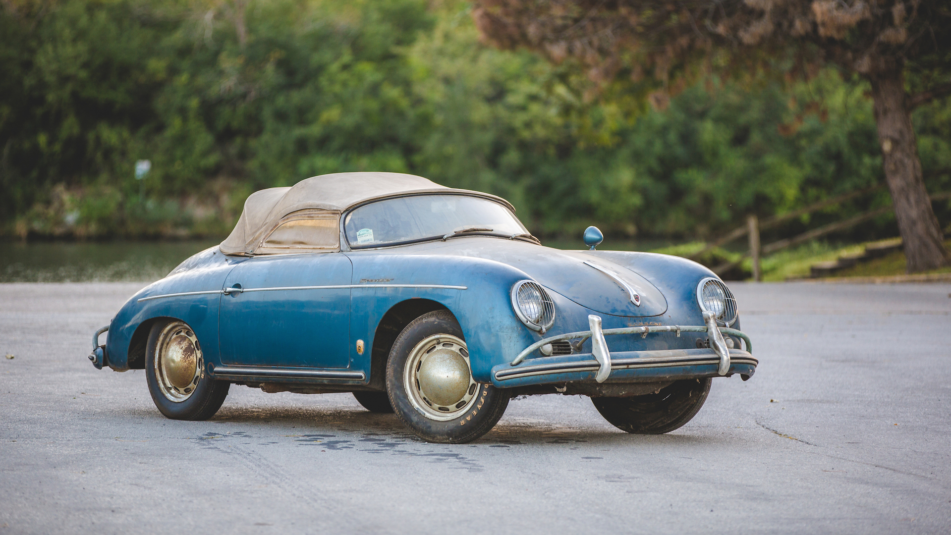 Barn Find Porsche 356 Speedster Heads To Auction With