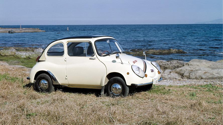 Japon mühendisler Subaru 360'ı klasik statüsüne soktu
