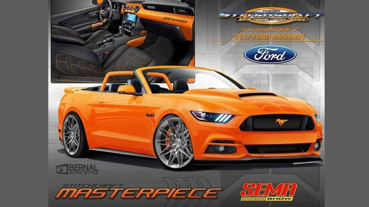 Ford Mustang, 2016 SEMA