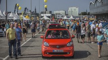 2016 Smart parade in Hamburg