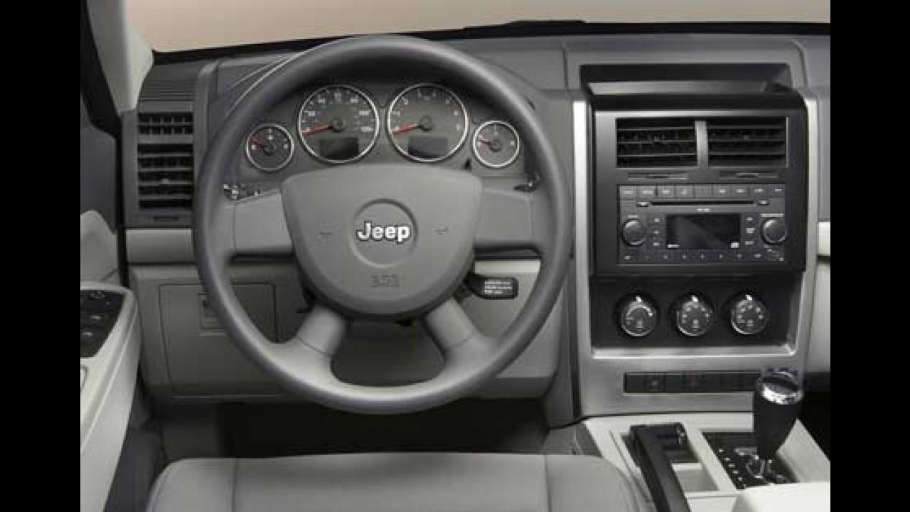 Salão de Frankfurt 2007 - Jeep Cherokee Liberty 2008
