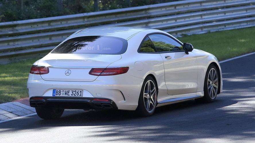 Mercedes SL 2019 fotos espía