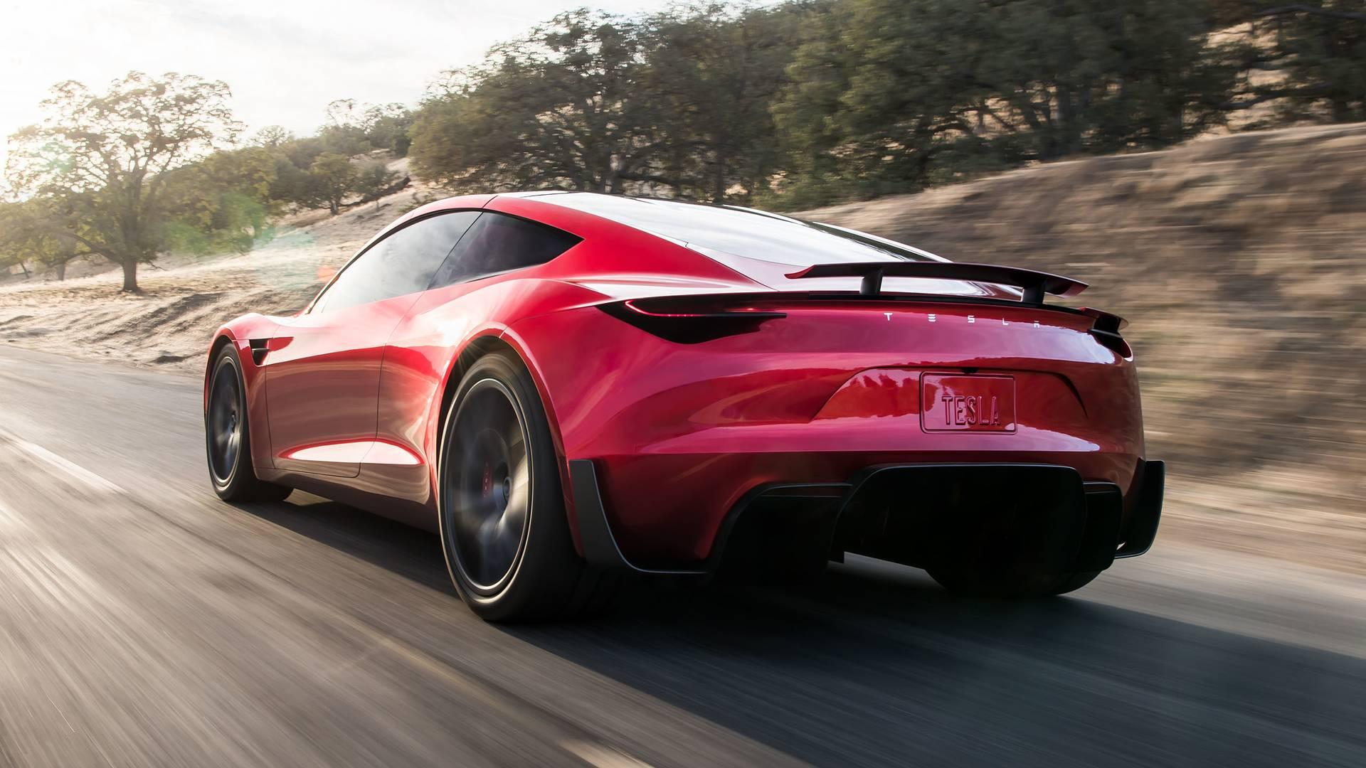 Tesla Sports Car >> Tesla Roadster 2020