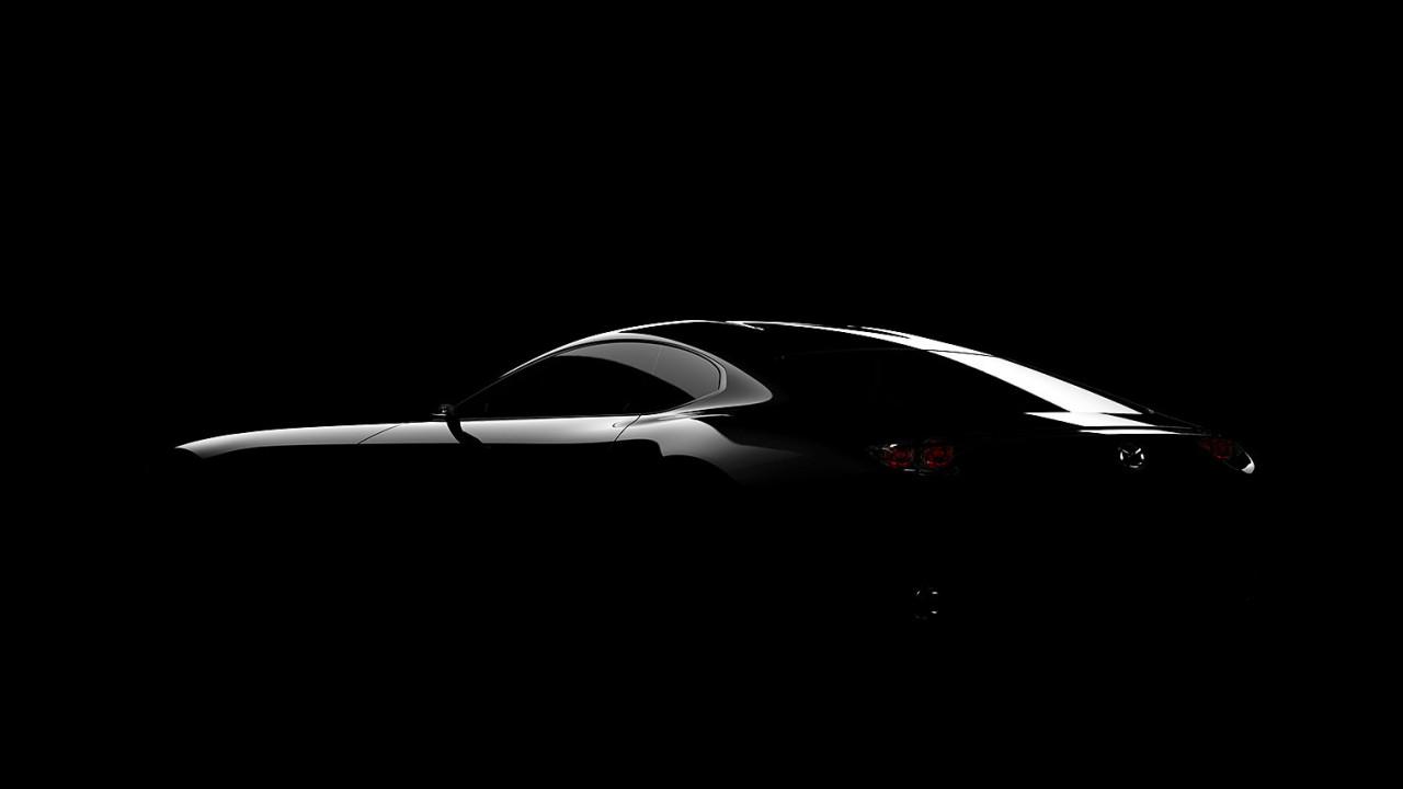 Mazda concept coupé, il teaser