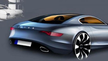 Volvo P1800 design sketch, 960, 09.12.2011