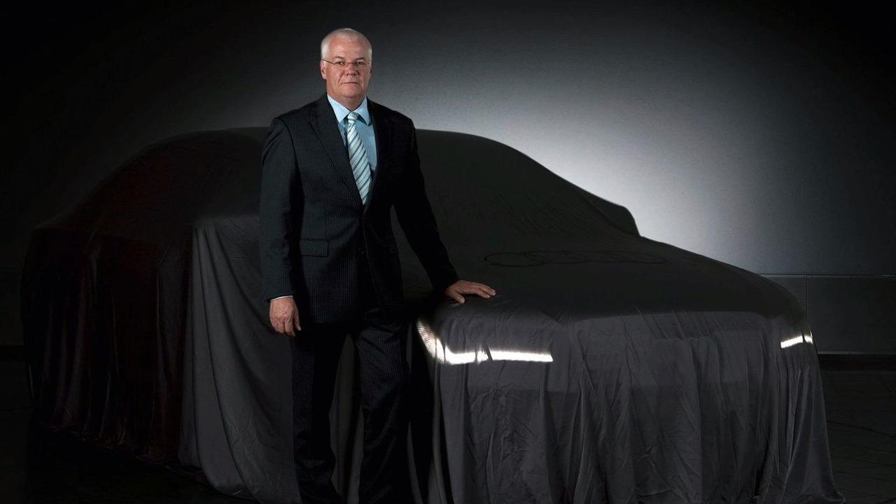 2011 Audi A8 teaser, Michael Dick, Audi AG Board Member for Technical Development