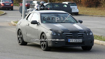 Mercedes E-Class Coupe Convertible Spy Photos