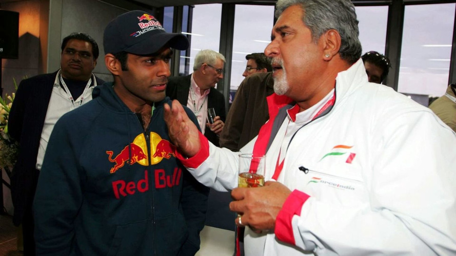 Mallya to test Chandhok in F1 simulator