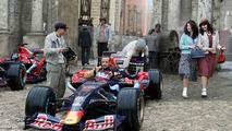 Vitantonio Liuzzi (ITA), Scuderia Toro Rosso - Red Bull Racing and Scuderia Toro Rosso, pre-season film, filming,Sofia, Bulgaria,  21.02.2007
