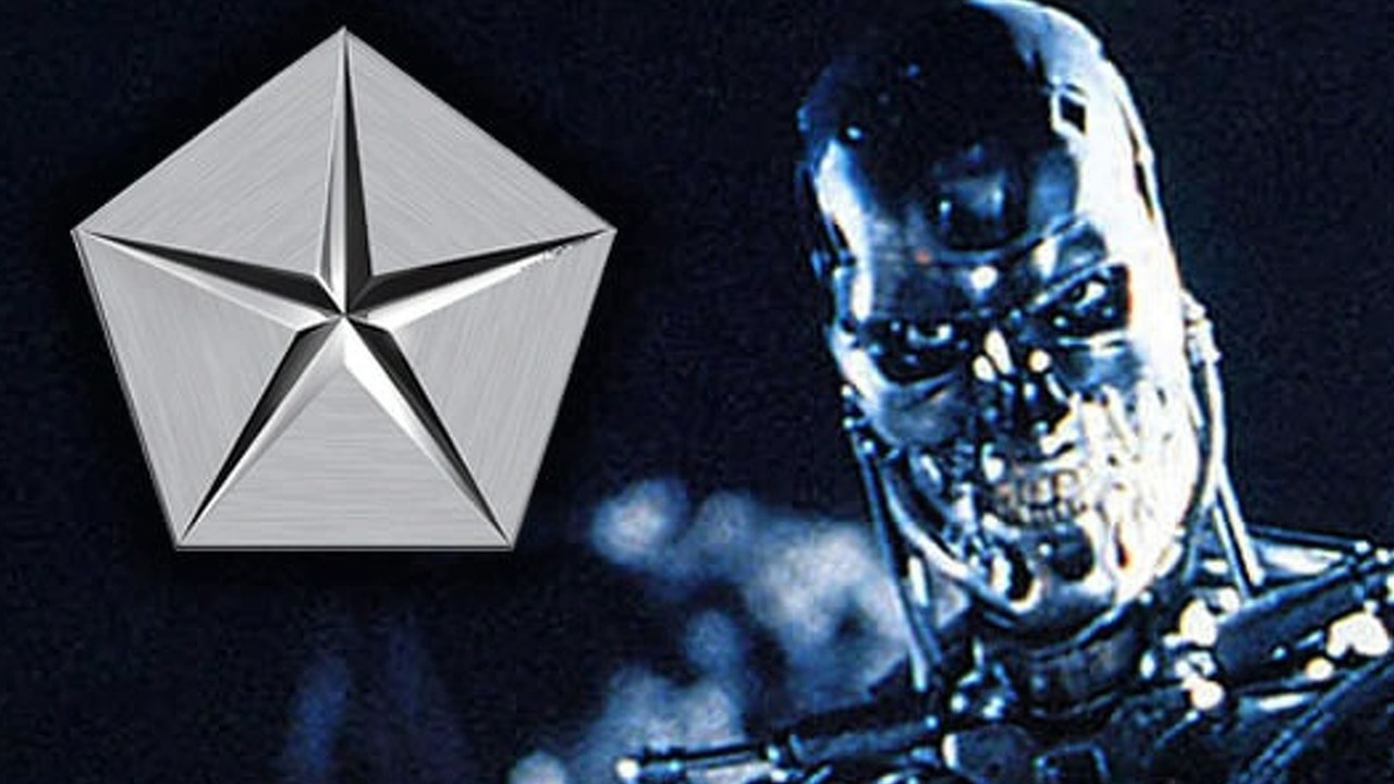 Terminator with Chrysler Logo