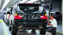 BMW Plant Spartanburg South Carolina, USA - X5 goes through final finish in Assembly