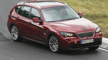 Red BMW X1 Prototype Virtually Undisguised on Nurburgring