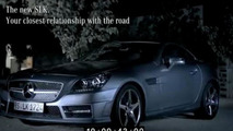 Nico Rosberg tests the new 2012 Mercedes SLK with its chief engineer [video]