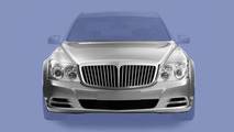 Maybach facelift leaked illustrations - 600 - 12.03.2010