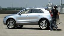Audi Cross Coupe Quattro Concept at Alliance Arena