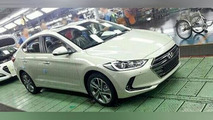 2016 Hyundai Avante / Elantra spy photo