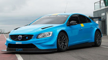 Volvo Polestar Cyan Racing S60 race car