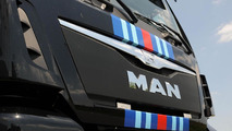 MAN unveils a Porsche-Martini themed TGX