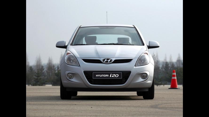 Nuova Hyundai i20 tre porte