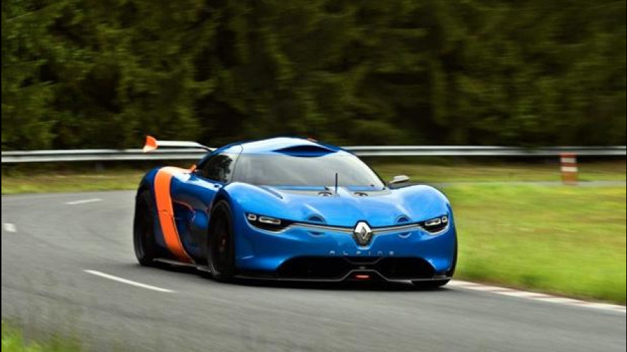 Renault Alpine A110-50 Concept: nuove foto