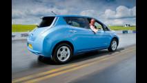 Nissan Leaf, record in retromarcia a Goodwood 2012