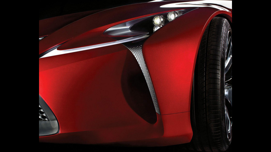 Concept Lexus a Detroit