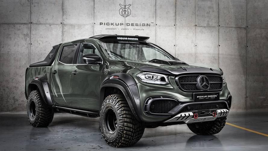 Carlex Design prepara el Mercedes Clase X 2018 más llamativo