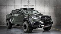 Mercedes X-Serisi'ne Carlex Design Modifiyesi
