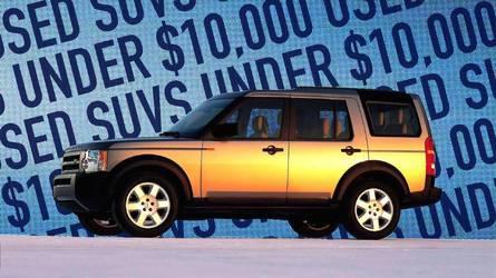 Best Used SUVS Under $10,000