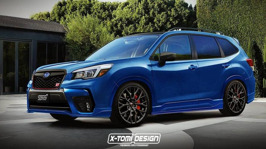 2019 Subaru Forester STI Render Needs To Happen In Real Life