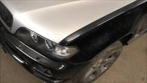 BMW X5 Repaired