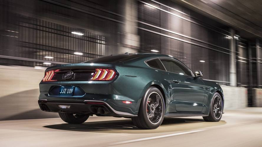 ford mustang bullitt 2018 la l gende est de retour. Black Bedroom Furniture Sets. Home Design Ideas