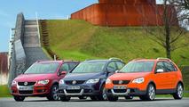 VW CrossTouran, CrossGolf & CrossPolo