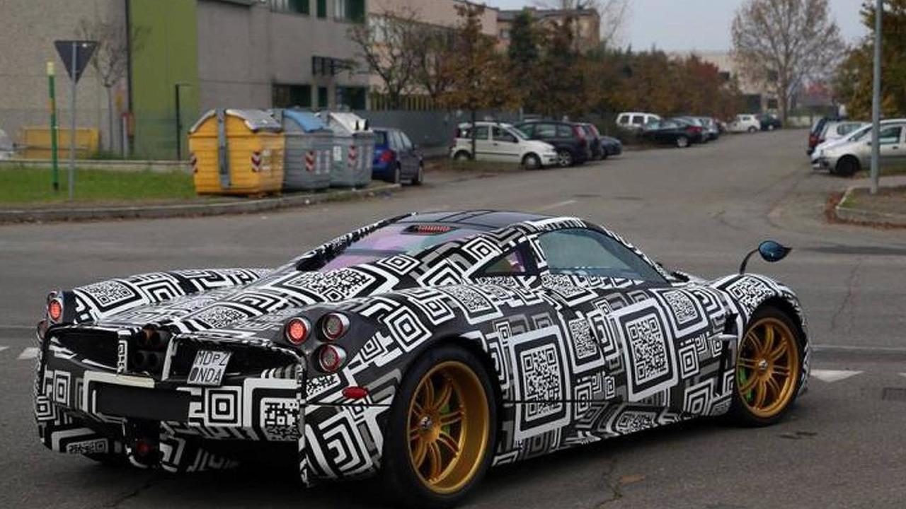Pagani Huayra Nurburgring Edition (not confirmed) spy photo / Arthomobiles