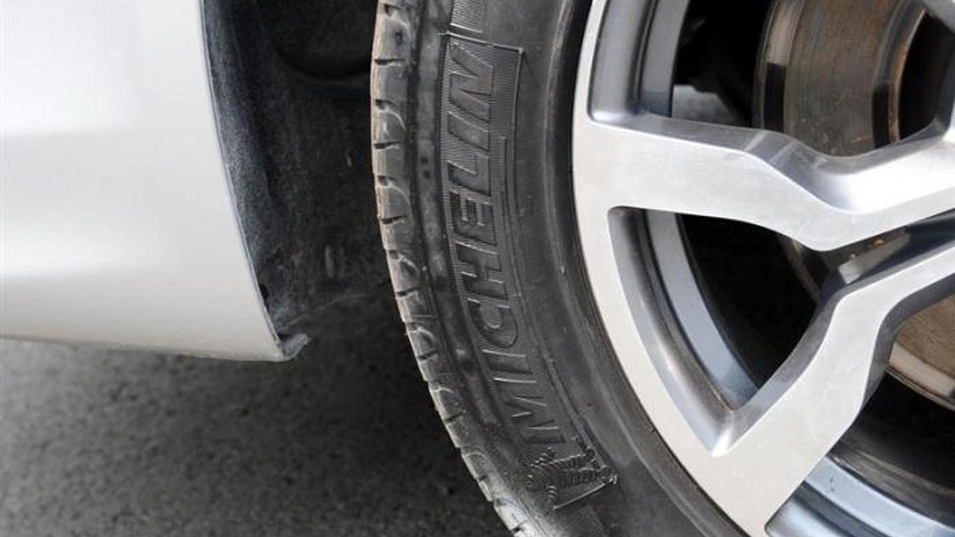 Шины Michelin на 17-дюймовых дисках Audi A6 Pickup