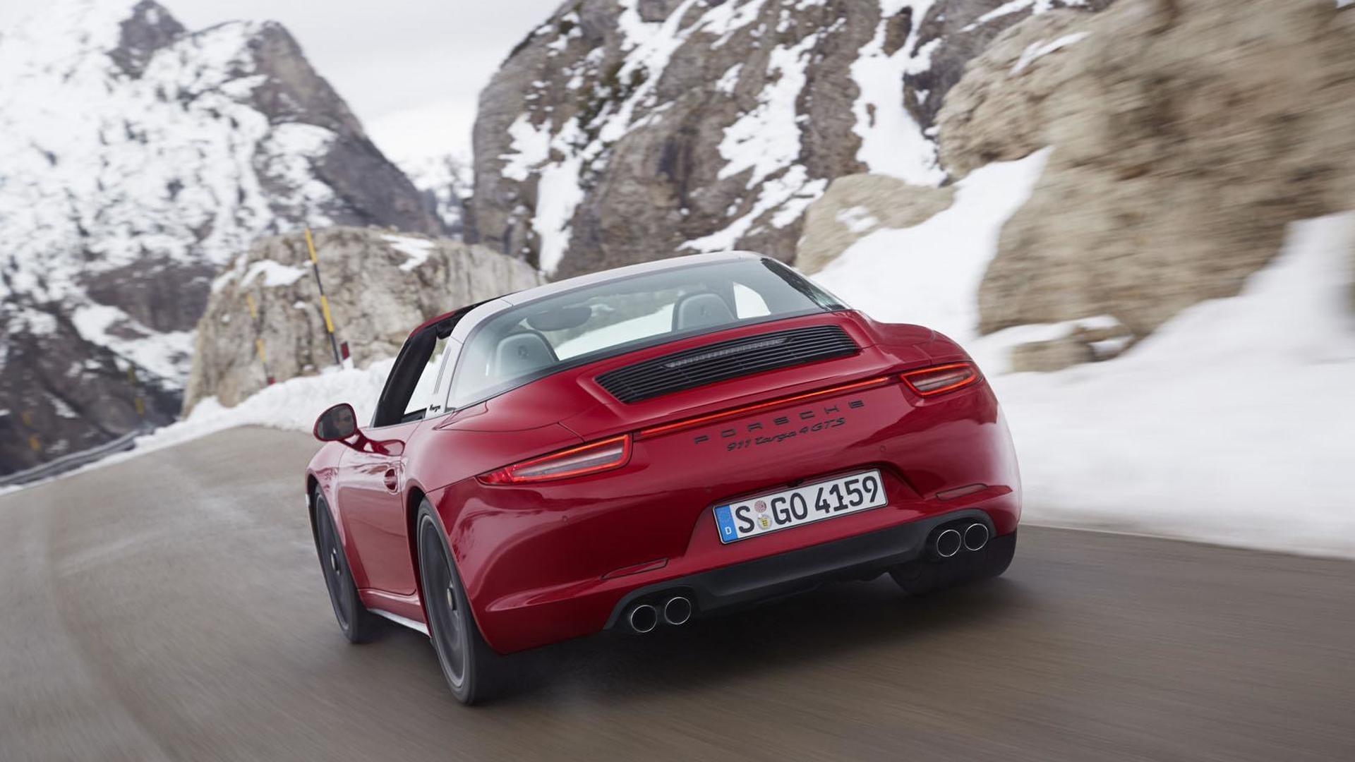 Новый Porsche 911 Targa 4 GTS