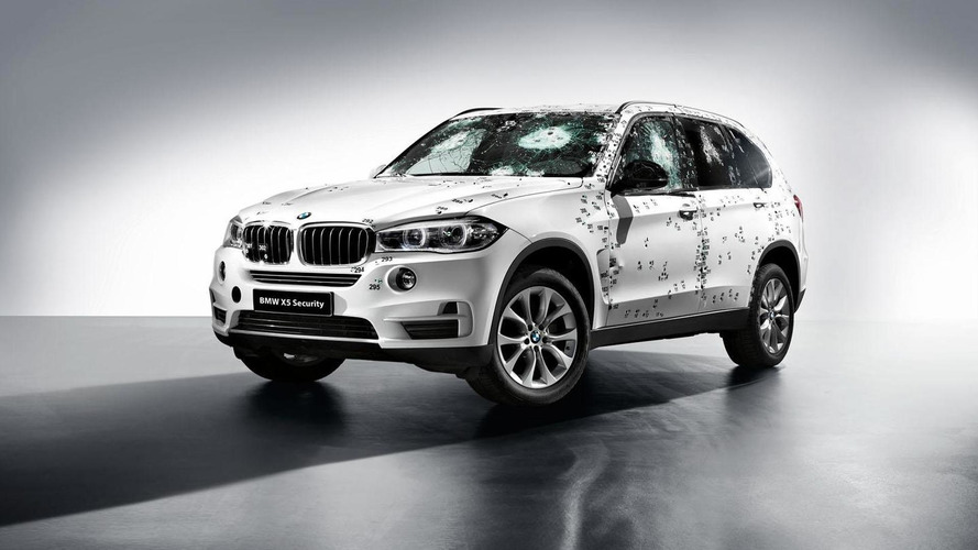 BMW X5 Security Plus to debut at the Moscow Motor Show