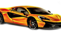McLaren 570S possible leaked photo